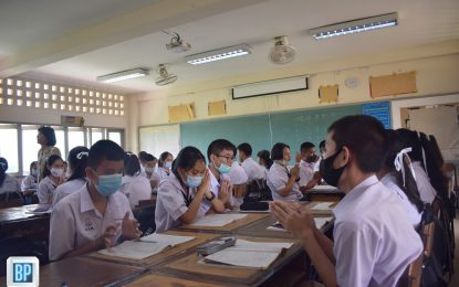 นักศึกษาชั้นปีที่ 4 สาขาวิชาพุทธศาสนศึกษา ออกสังเกตการณ์สอน ครั้งที่ 1 ภาคการศึกษาที่ 1 / 2563