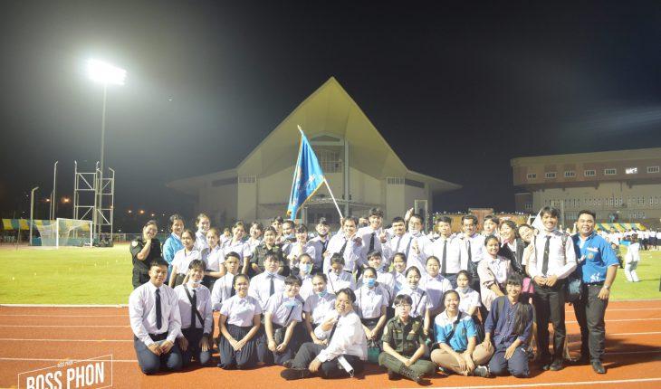 นักศึกษาสาขาวิชาพุทธศาสนศึกษาชั้นปีที่ 1 ร่วมพิธีอัญเชิญตราพระราชลัญจกร พิธีสักการะอนุสาวรีย์ท้าวสุรนารี และบายศรีสู่ขวัญน้องใหม่ ประจำปีการศึกษา 2563